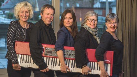 Foto af undervisere i klaver