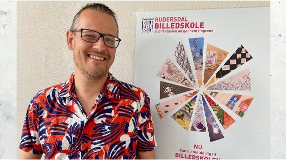 Foto af musikskoleleder Henrik Lilleholt Smidt