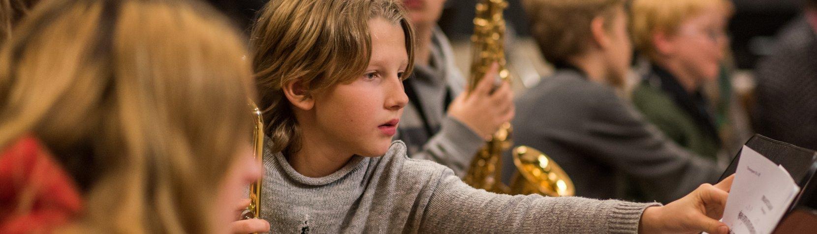 Foto af Blæseorkester Rudersdal Harmonietta