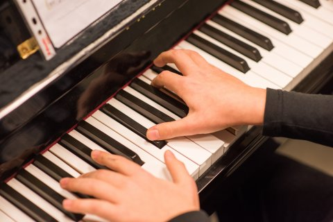 foto af klaviatur