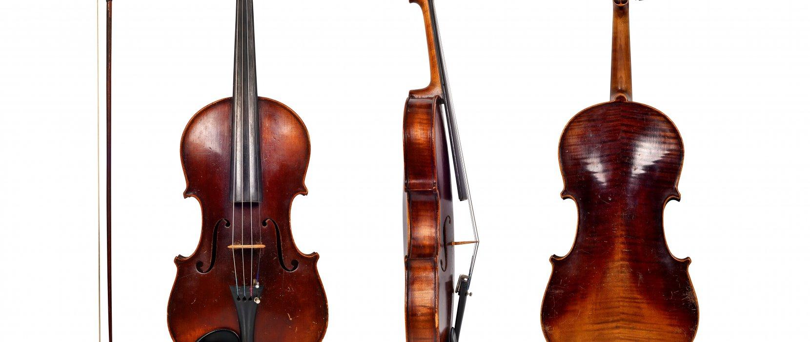 foto af violin